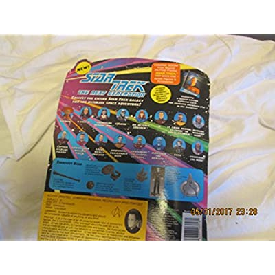 Star Trek The Next Generation Q in Starfleet Uniform 4 inch Action Figure: Toys & Games