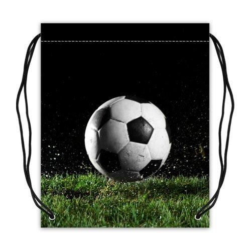 amazon com cool soccer ball basketball drawstring backpack bags