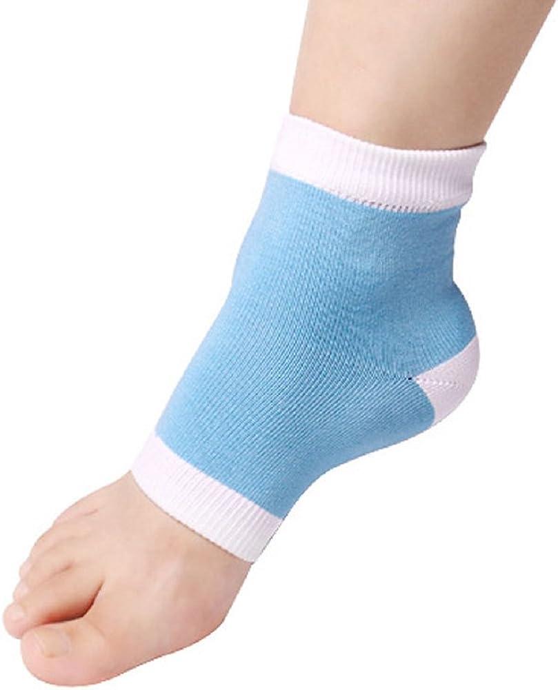 Saingace/® Heel Socks for Dry Hard Cracked Skin Moisturising Open Toe Recovery Socks