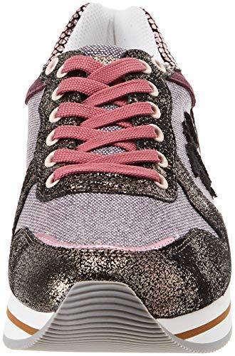 Scarpe Logo Donna Ginnastica M200 rosa Rose Rosa Tj Jeans Da Patch Running dark Trussardi wHWcqXnUIF