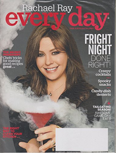 Rachael Ray Every Day October 2017 Fright Night Done Right!