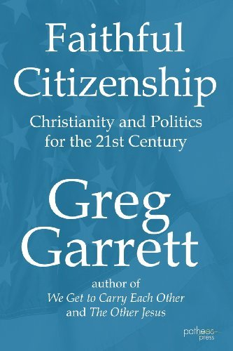 Greg Garrett, Ph.D. Publication
