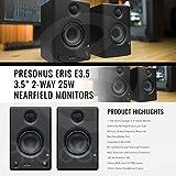 """PreSonus Eris E3.5 3.5"""" Professional Multimedia"""