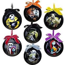 Tim Burton's The Nightmare Before Christmas Ornament Set --...