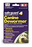 8 In 1 Safe Guard Canine Dewormer for Medium Dogs, 2-Gram (3 Pouches per Pack) by Excel