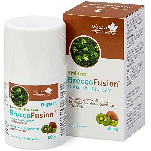 BroccoFusion Sulforaphane Organic Night Cream 50 ml Newco Natural Technology i5 1502072172