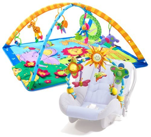 Tiny Love Super Deluxe Lights and Music Gymini Activity Gym with Take-A-Long Arch