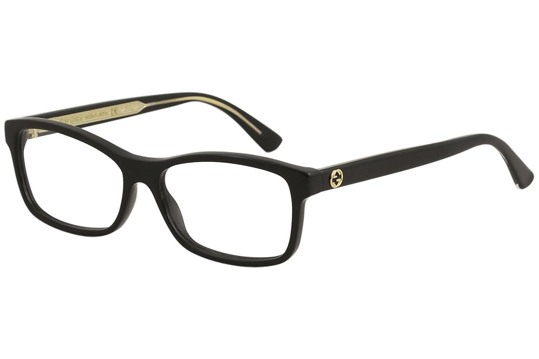 fb75b50dbdbc Amazon.com: Eyeglasses Gucci GG 0316 O- 001 BLACK /: Clothing