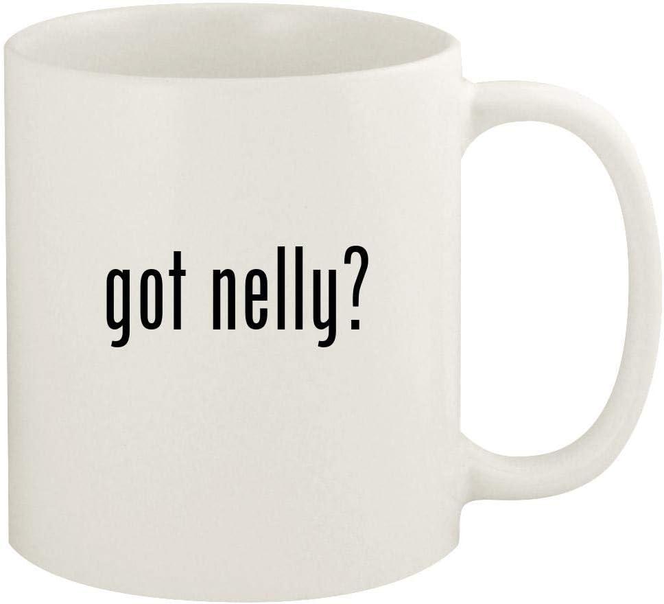 got nelly? - 11oz Ceramic White Coffee Mug Cup, White