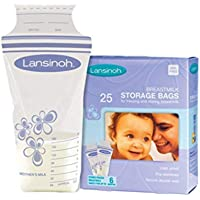 Lansinoh Breast Milk Storage Bags, 25's