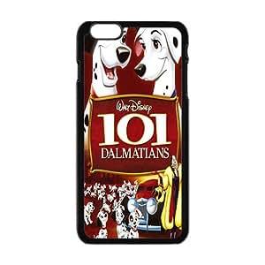 Happy 101 Dalmatians Case Cover For iPhone 6 Plus Case