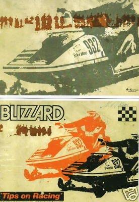 (1973 SKI-DOO BLIZZARD RACING TIPS OWNERS MANUAL)