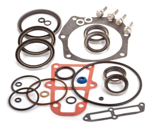 SEI Marine Products-Compatible with - OMC Stringer Gearcase Seal Kit 0982946 V6 800 Series
