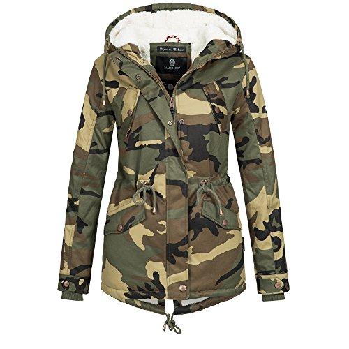 Marikoo Camouflage Blouson Femme Femme Marikoo Blouson Camouflage Marikoo Blouson P4AFzx