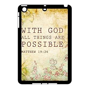 Bible Verse Use Your Own Image Phone Case for Ipad Mini,customized case cover ygtg620670