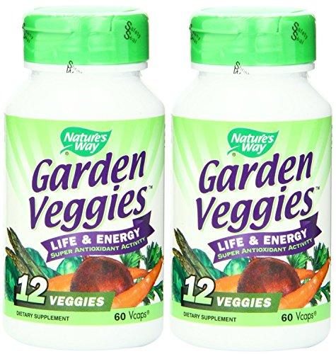 Nature's Way Garden Veggies, 60 Vcaps X 2