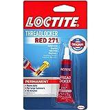 Loctite Threadlocker Red 271, 0.20 fl. oz (209741)
