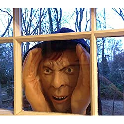 Forum Novelties Scary Peeper Halloween Decoration-Peeping Tom Look Alike-Realisti Realistic Prank