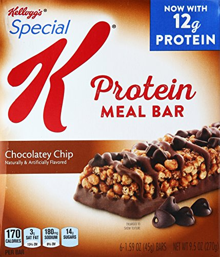 Kellogg'S Special K Protein Chocolatey Chip Meal Bars, 6 Count - Buy Wholesale Food