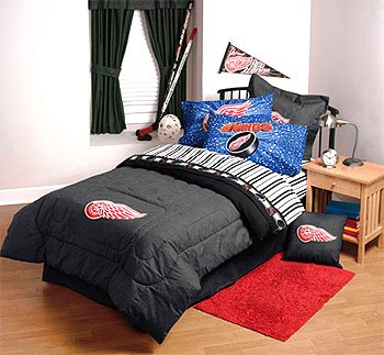 Captivating Amazon.com: NHL Detroit Redwings   4pc Bed Sheets Set   Full Sports  Bedding: Home U0026 Kitchen