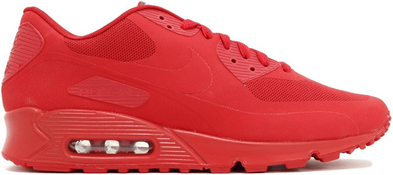 High Quality Nike Air Max 90 USA Flag Hyperfuse QS Sport Red 613841 660 Men's Women's Running Shoes