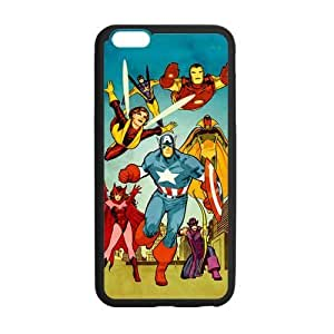 the Case Shop- Avengers Super Hero TPU Rubber Hard Back Case Silicone Cover Skin for iPhone 6 Plus 5.5 Inch , i6pxq-614