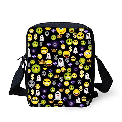 Emoji10 pour HUGS Violet bandoulière IDEA Emoji6 petit H357E petit femme Sac Y qgxAgn4