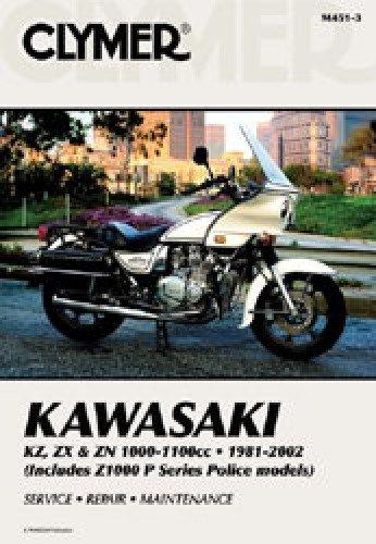 M451-3 1981-2002 Kawasaki KZ1000 Z1000 Z1100 Police Clymer Motorcycle Repair Manual