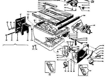 Craftsman 10 Contractor Table Saw Metal Handwheel Handle Crank 38