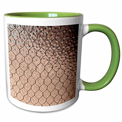 3dRose Danita Delimont - Museums - USA, Arizona, Yuma, Castle Dome Museum, Safety Glass - 11oz Two-Tone Green Mug - Outlets Yuma