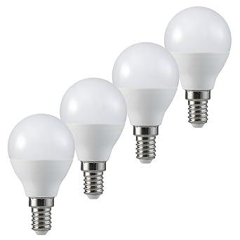 MÜLLER LICHT LED Tropfenform Ersetzt 40 W, Plastik, E14, 5.5 W,