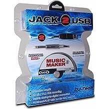 DJTech JACK2USB Channel Digital Multitrack Recorder