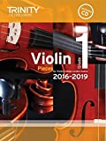 Trinity College London: Violin Exam Pieces - Grade 1 (2016-2019) (Score, Part & CD). Sheet Music, CD for Violin, Piano Accompaniment