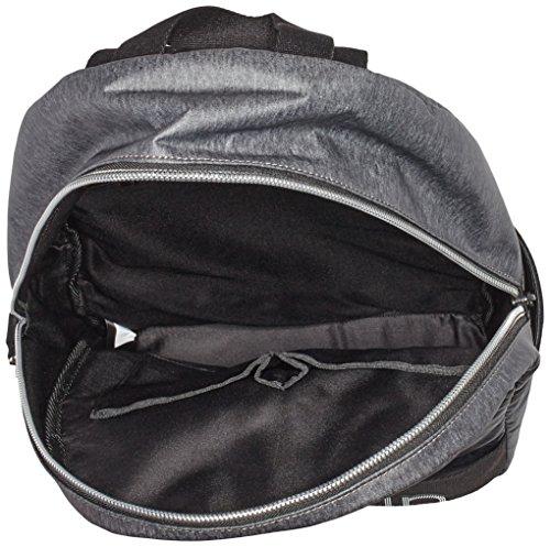 Calvin Klein Jeans Re-Issue # Backpack 1 Ctd Jrsy, Portés Dos Femme, Gris (Dark Grey), 14 EU