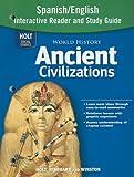 Ancient Civilizations, RINEHART AND WINSTON HOLT, 003094127X