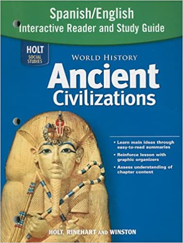 Amazon world history ancient civilizations spanishenglish amazon world history ancient civilizations spanishenglish interactive reader and study guide 9780030941276 rinehart and winston holt books fandeluxe Images