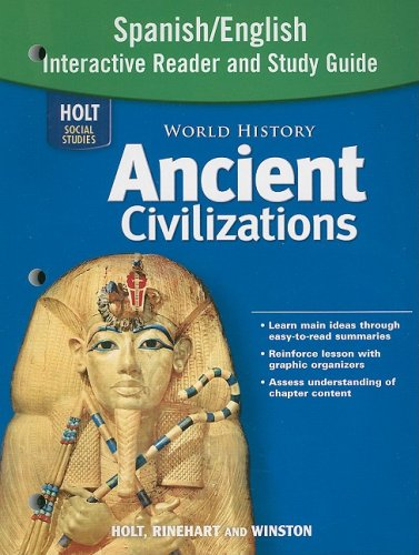 Amazon world history ancient civilizations spanishenglish amazon world history ancient civilizations spanishenglish interactive reader and study guide 9780030941276 rinehart and winston holt books fandeluxe Choice Image