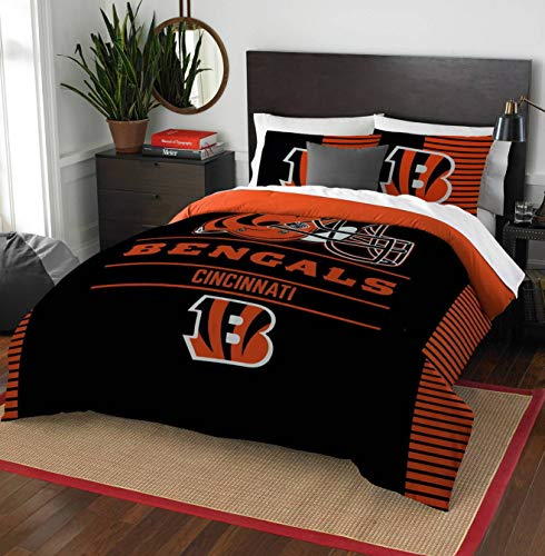 Northwest NFL Cincinnati Bengals Draft Full/Queen Bedding Comforter Set