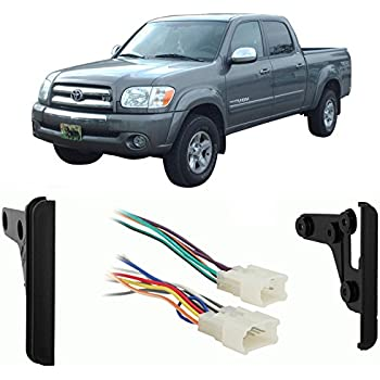 Amazon.com: Fits Toyota Tundra Double Cab 2004-2005 DDIN Car Harness on 2005 toyota tundra rear differential, 2005 toyota tundra camper shell, 2000 toyota tundra wire harness,