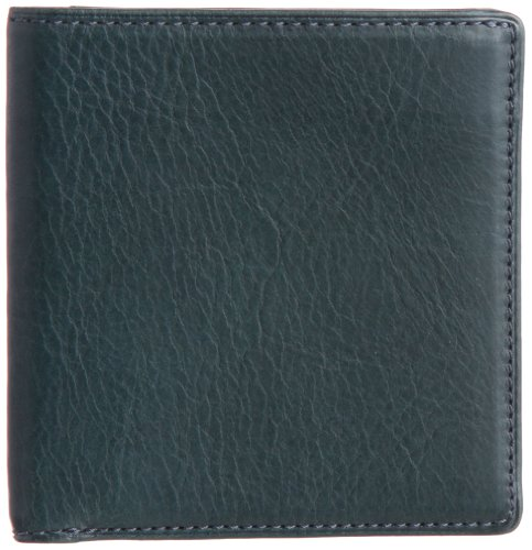 THINly Leather Bifold Wallet SLBS02 Dark Green by THINly