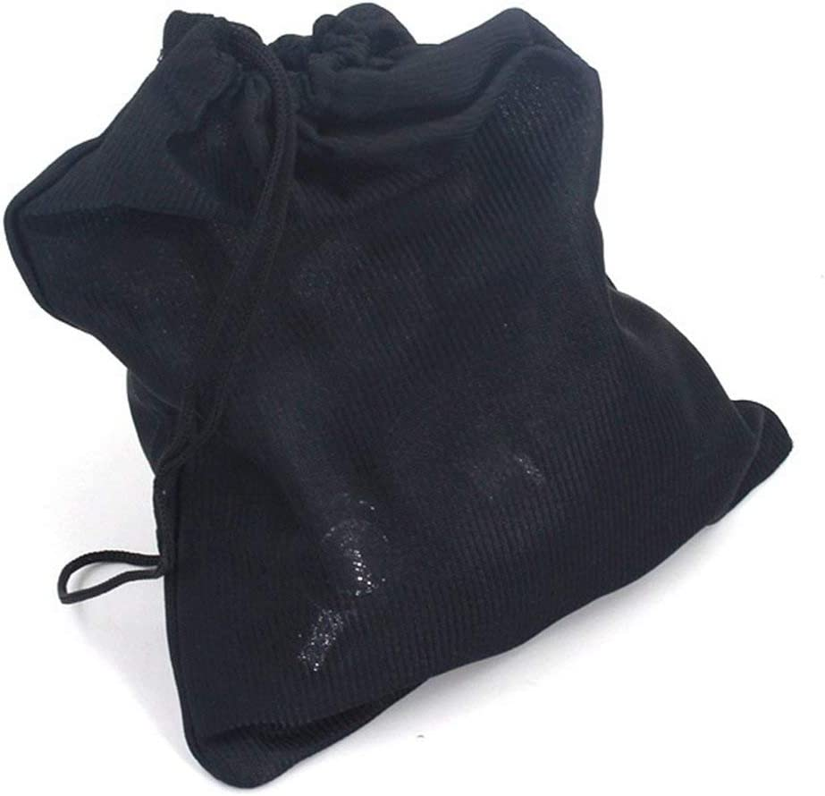 IronHeel Angelrolle Tasche mit Kordelzug Angelrolle Schutz Tasche Tasche Angelger/ät Angelausr/üstung Zubeh/ör Schwarz