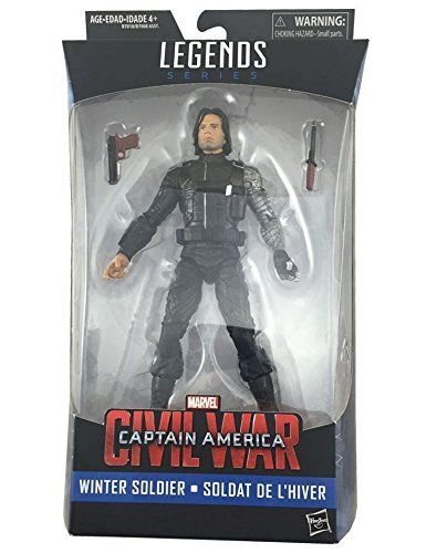 Marvel Legends, Captain America: Civil War, Winter Soldier Exclusive Action Figure, 6 Inches