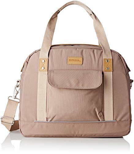 Basil Portland Womens Business Bag and Bicycle Pannier - Taupe