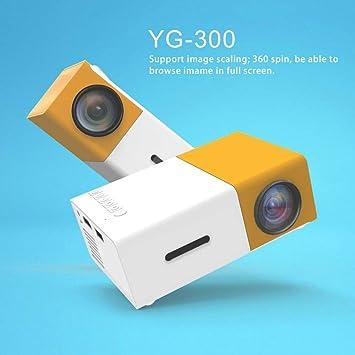 Smartlife Mini Proyector Profesional YG300 Full HD1080P Home ...