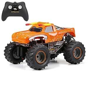 Amazon.com: New Bright F/F Monster Jam El Toro Loco RC Car ...