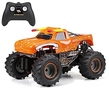 Amazon Com New Bright F F Monster Jam El Toro Loco Rc Car