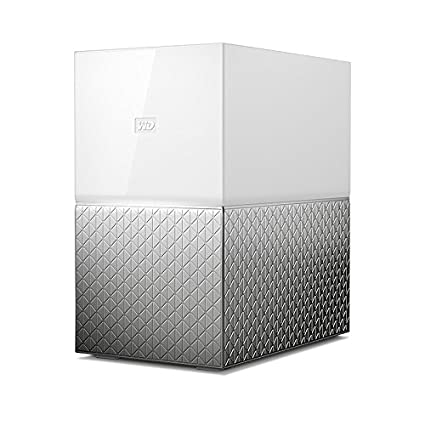 WD 16TB My Cloud Home Duo Personal Cloud Storage - Dual Drive -  WDBMUT0160JWT-NESN