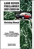 Land Rover Freelander Manual 2001/2003 (Brooklands) [Paperback] [2009] (Author) R.M. Clarke
