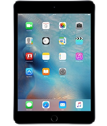 iPad Mini 4 Apple Wi-Fi, Tela 7,9'', Sensor Touch ID, Bluetooth, FaceTime HD e iOS 9 Cinza Especial