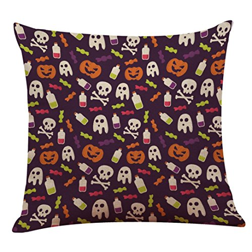 Elevin(TM) 2017 Halloween Day Pillow Case, New Happy
